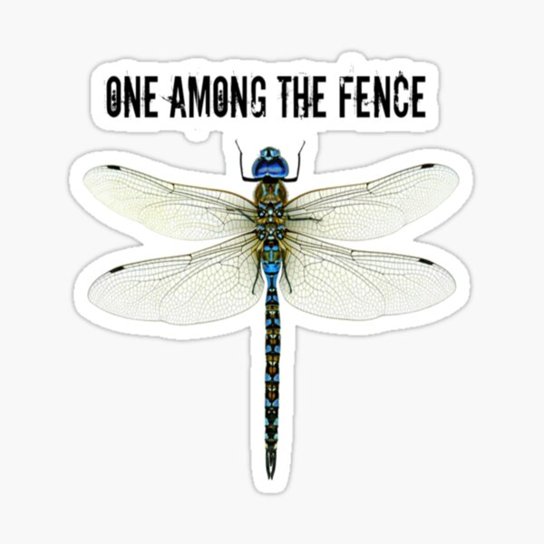 One Among The Fence 2 Sticker