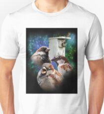 3 Sparrow Nestbox T-Shirt