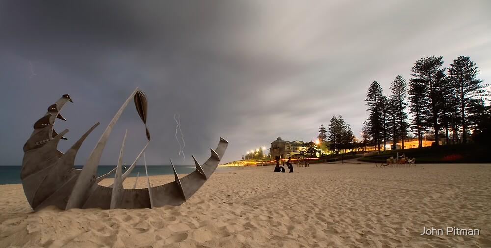 Stormy Exhibit by John Pitman