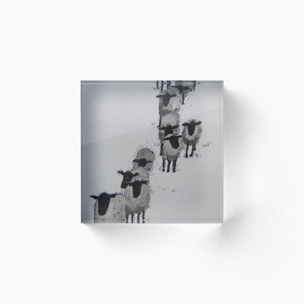 Follow the Leader Acrylic Block