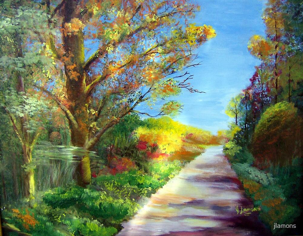 Autumn Roads by jlamons