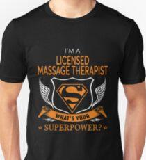 LICENSED MASSAGE THERAPIST Unisex T-Shirt