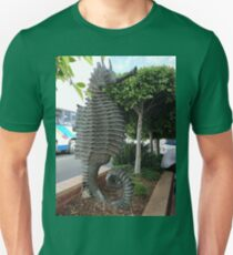 Sea Horse Sculpture, Merimbula,NSW,Australia 2011 T-Shirt