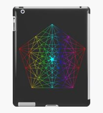 Abstract Geometry: Rainbow Fractal iPad Case/Skin