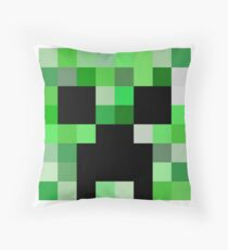 Minecraft Creeper Throw Pillow