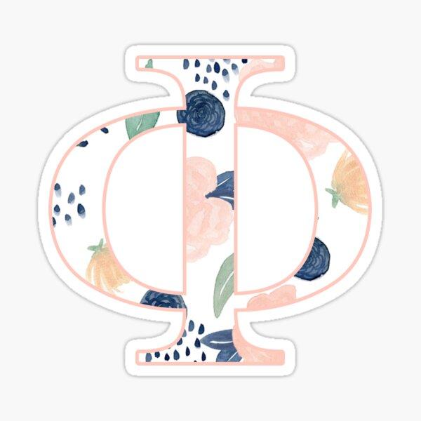 Floral Phi Sticker