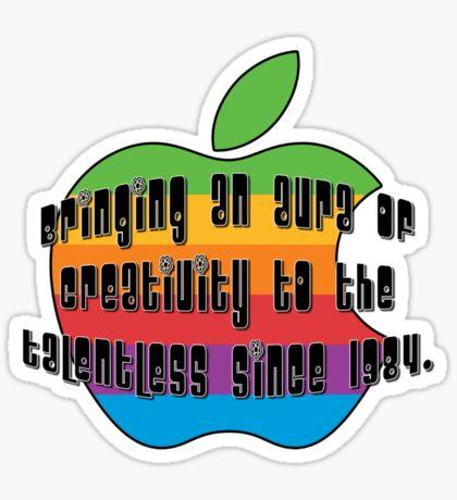 bringing an aura of creativity... Sticker