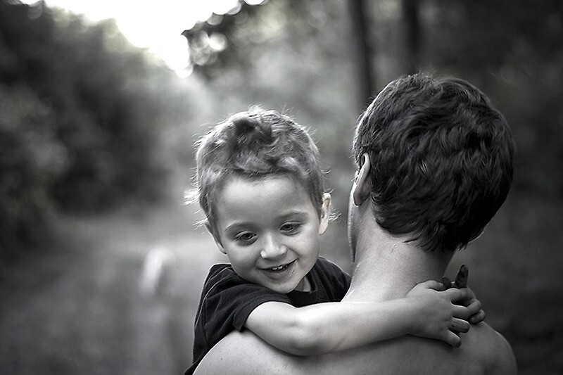 father and son by Dan Cretu