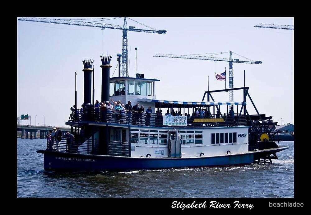 Elizabeth River Ferry by beachladee