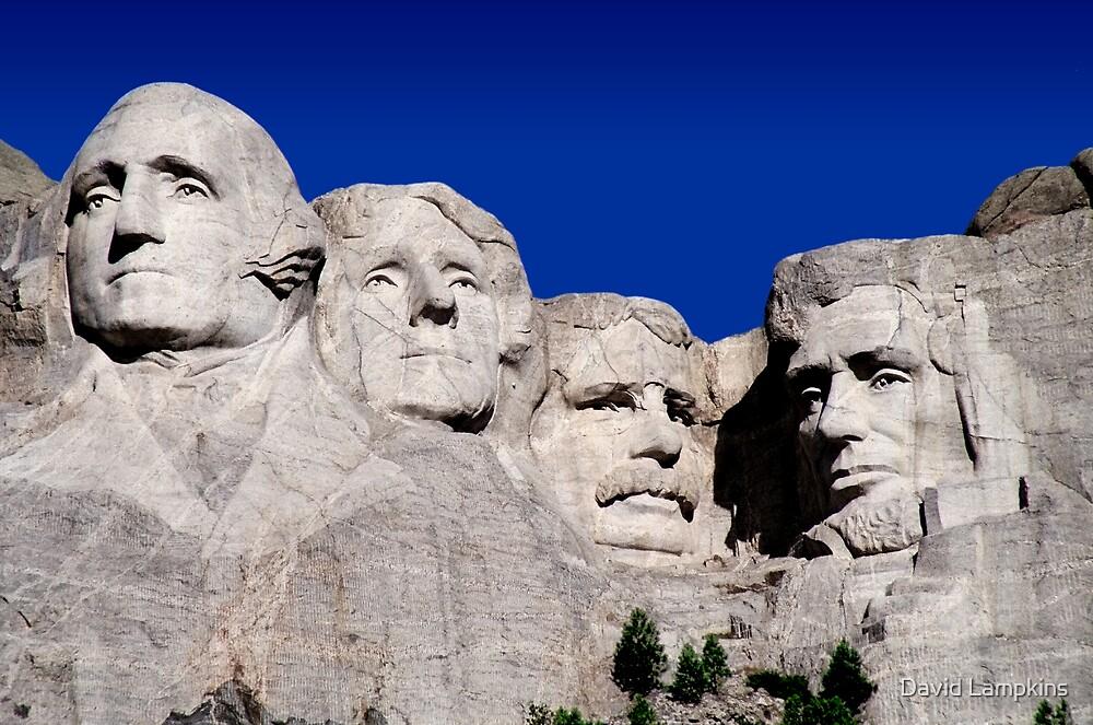 Mount Rushmore by David Lampkins
