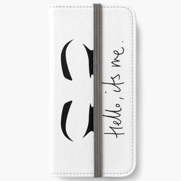 Hello..Its Me (Eyes Closed) | ADELE  iPhone Wallet
