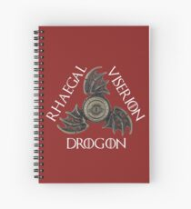 Dragons Spiral Notebook