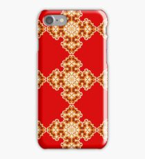 The Red Square Ornament iPhone Case/Skin