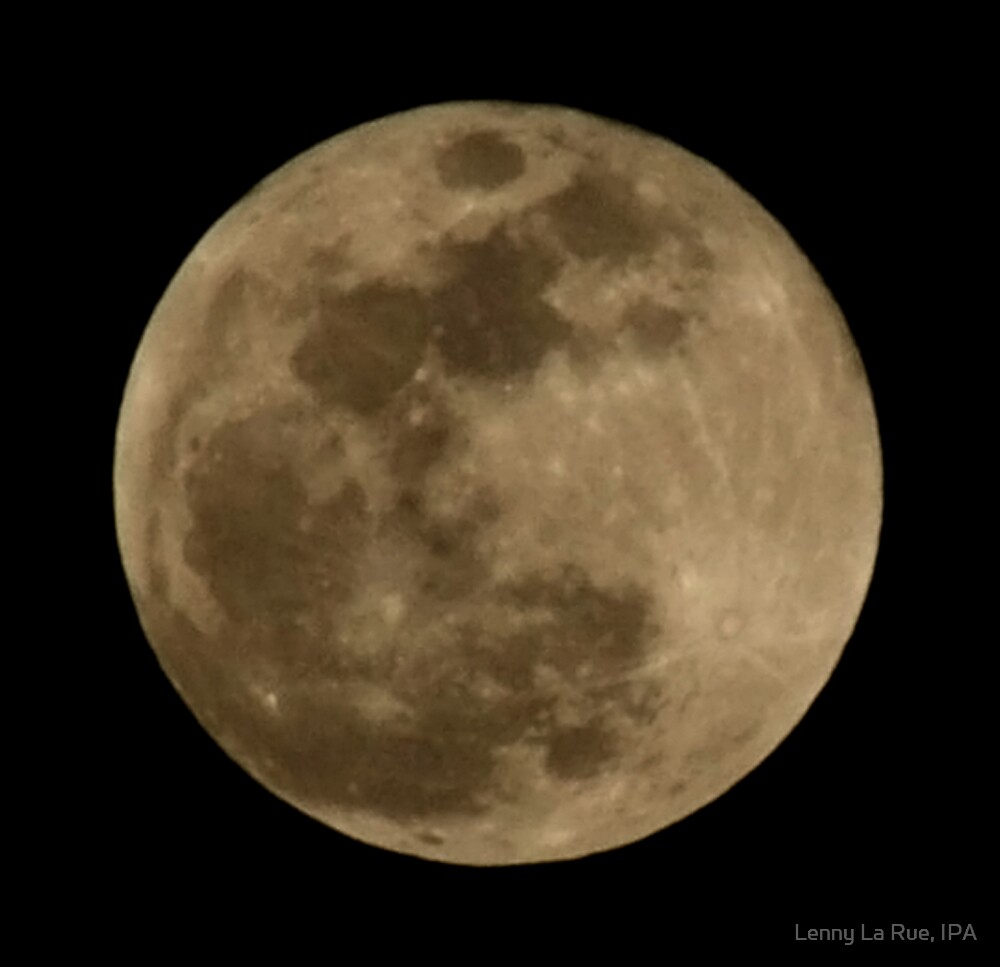 full moon, March 3rd, 2007 by Lenny La Rue, IPA