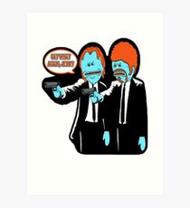 Say What Again, Jerry! Art Print