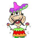 Funny Sombrero Guy by jeanne66