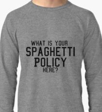 spaghetti policy Lightweight Sweatshirt