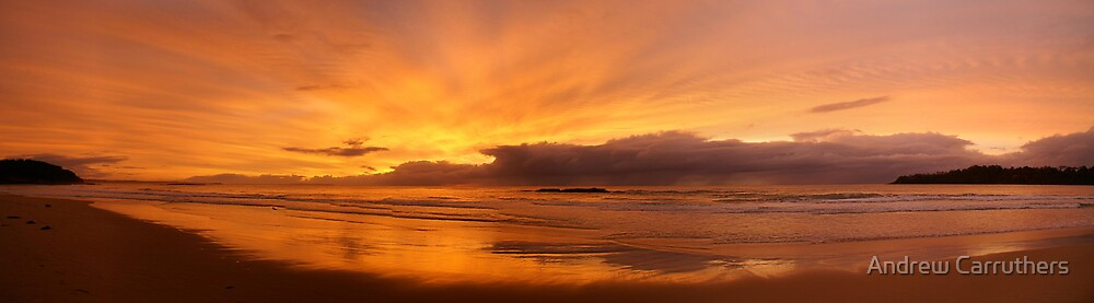 Dawn@ Narrawallee by Andrew Carruthers