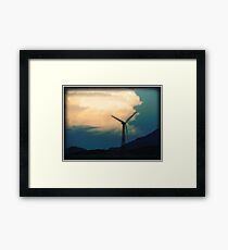 Mill on the Horizon Framed Print