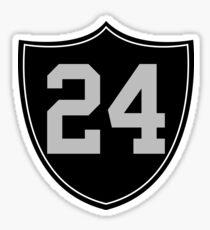 RAIDERS #24 Sticker