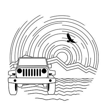 Jeep Line Design by Janja