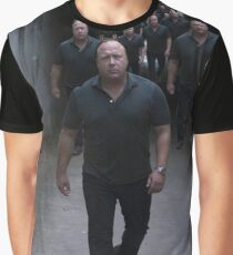 Alex Jones Army Graphic T-Shirt