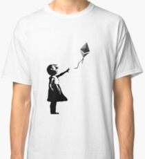 Ethereum Balloon Girl - Banksy Loves Bitcoin Series Classic T-Shirt