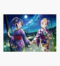 Love Live! Sunshine!! - Under the Moonlight Photographic Print
