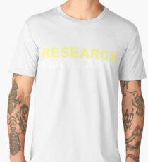 Research Flat Earth Men's Premium T-Shirt