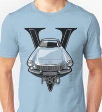 Volvo 1800P Vintage Sports Car Retro Print T-Shirt