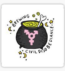 Witches' Brew Sticker