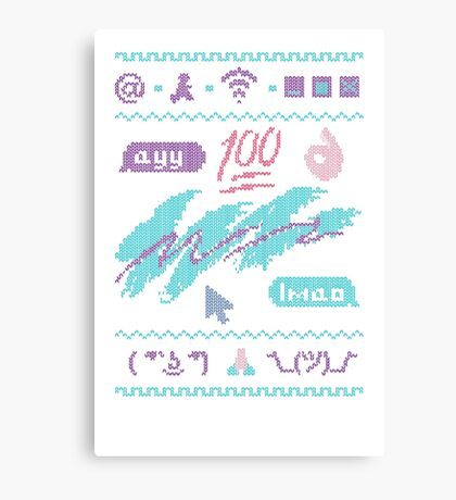 The InterKnit ™ Canvas Print