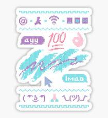 The InterKnit ™ Sticker
