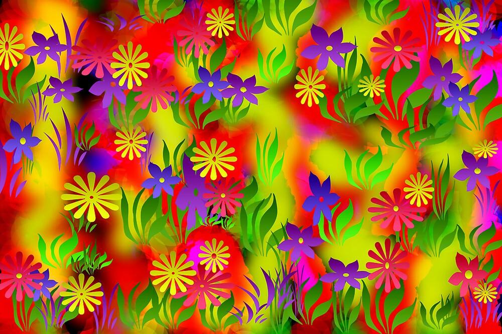 Flower Fence by brenwebb