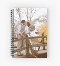 Anne and Gilbert Kiss Spiral Notebook