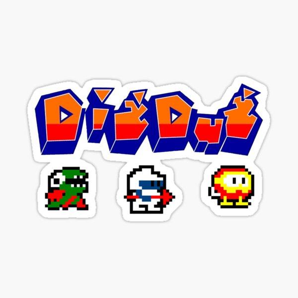 Dig Dug Sticker
