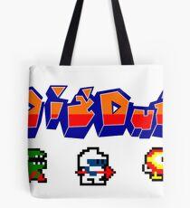 Dig Dug Tote Bag