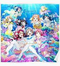 Love Live! Sunshine!! - Koi ni Naritai AQUARIUM Poster