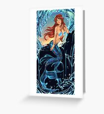 Siren. Greeting Card