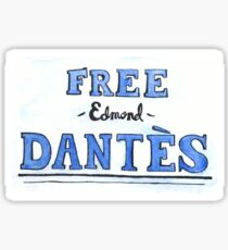 Free Edmond Dantes Sticker