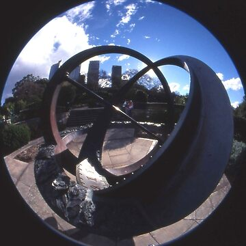 Spherical Sundial, Royal Botanical Gardens, Sydney, Australia 2004 by muz2142