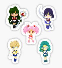 Outer Drops Senshi Sticker Sheet Sticker