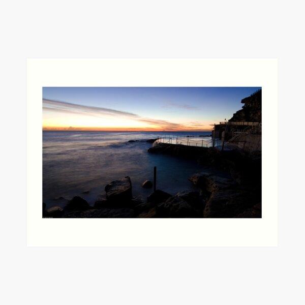 Ocean Pools Art Print