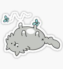 Carl and Butterflies Sticker