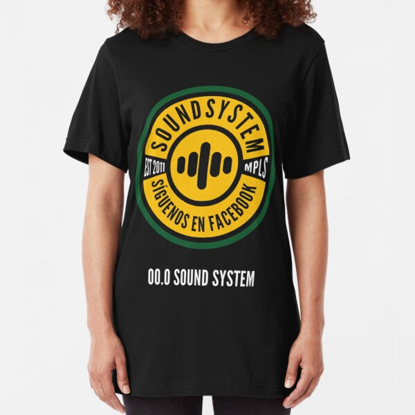 Sound System 2017 Slim Fit T-Shirt