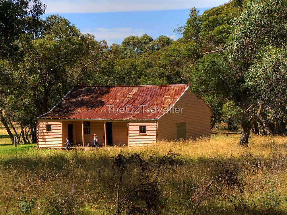 High Country Hut by TheOzTraveller
