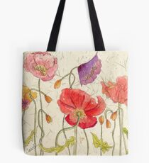My Favorite Poppies Tote Bag