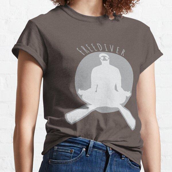 Freediver Meditating Freediving Classic T-Shirt