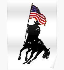 Flag Carrier Poster