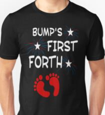 Independence Day Bump's First 4th of July - Best Design Unisex T-Shirt